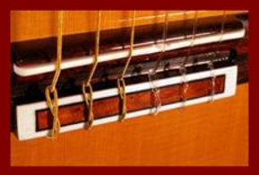 Classical Guitar Bridge Tie Block