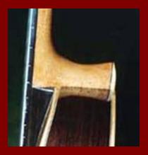 Classical Guitar Heel