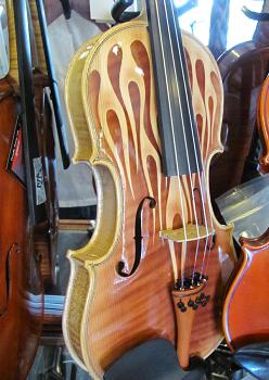 Flamed Violin