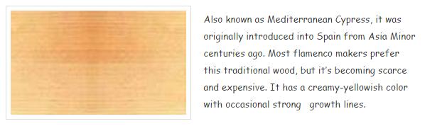 cgsmusic- Spanish Cypress
