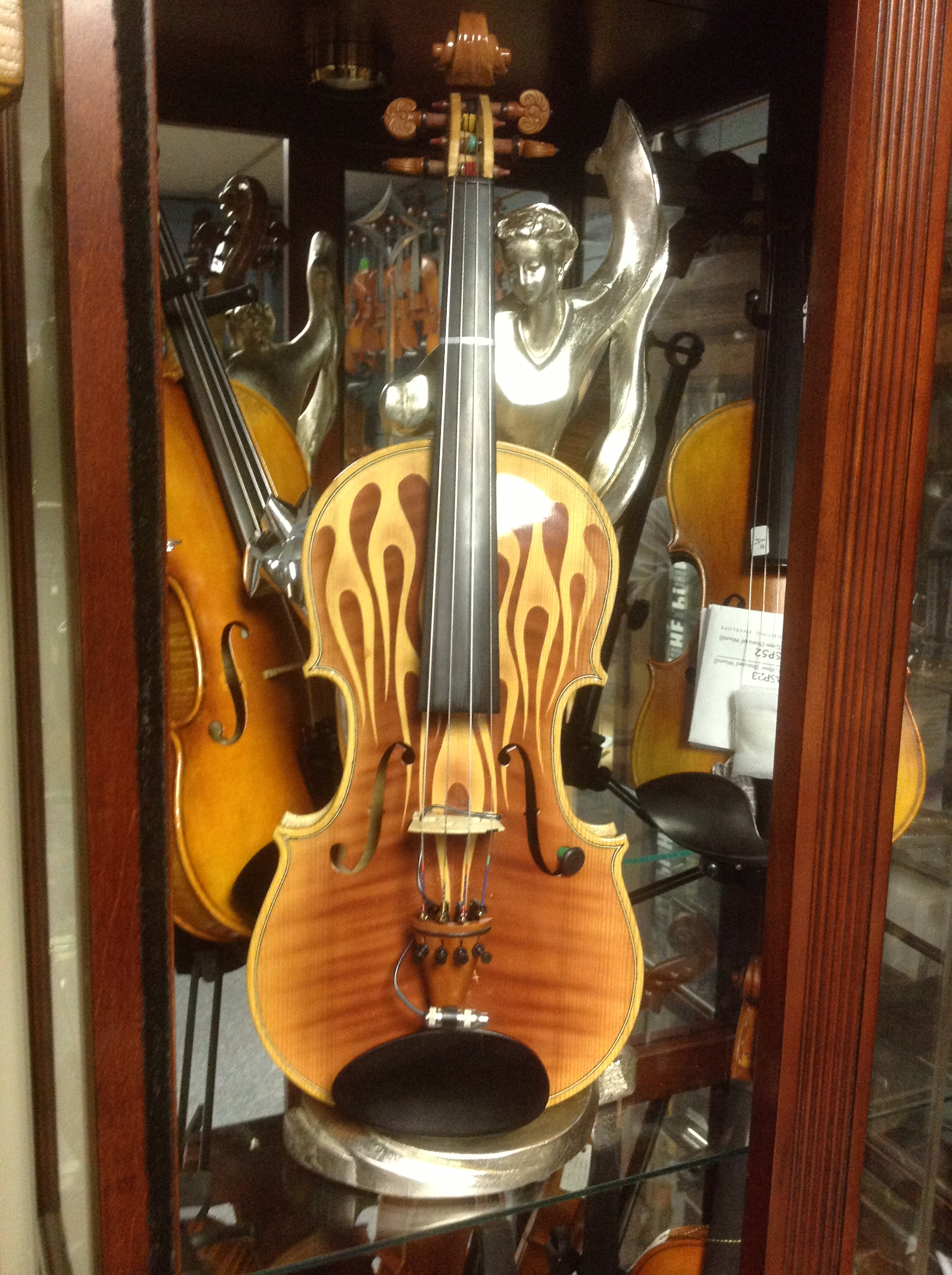 Flamed Violin