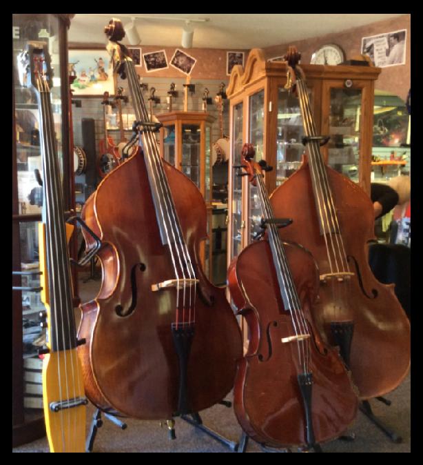 3 Basses & a Cello