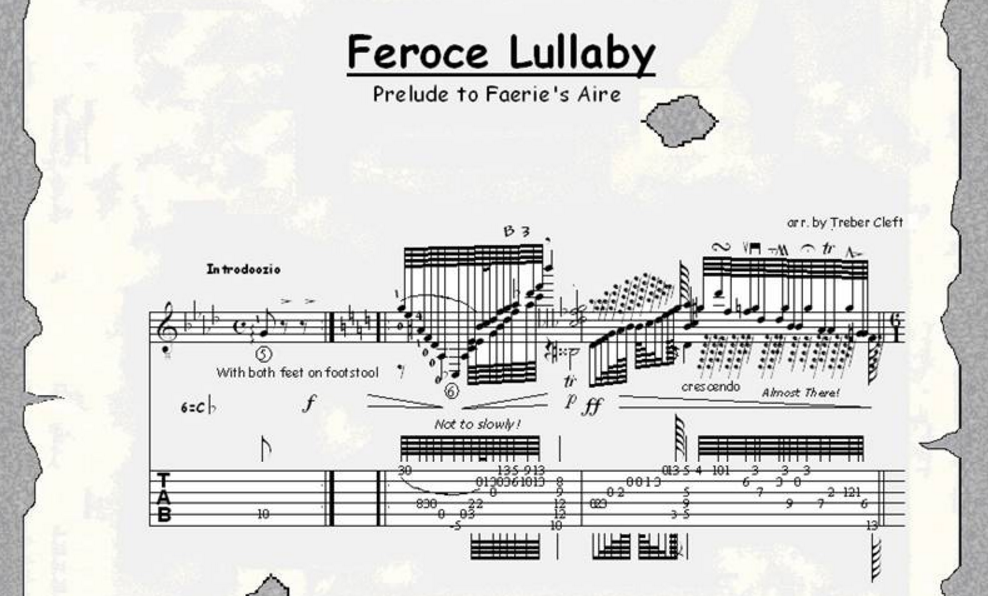 Feroce Lullaby Prelude Faerie's Aire
