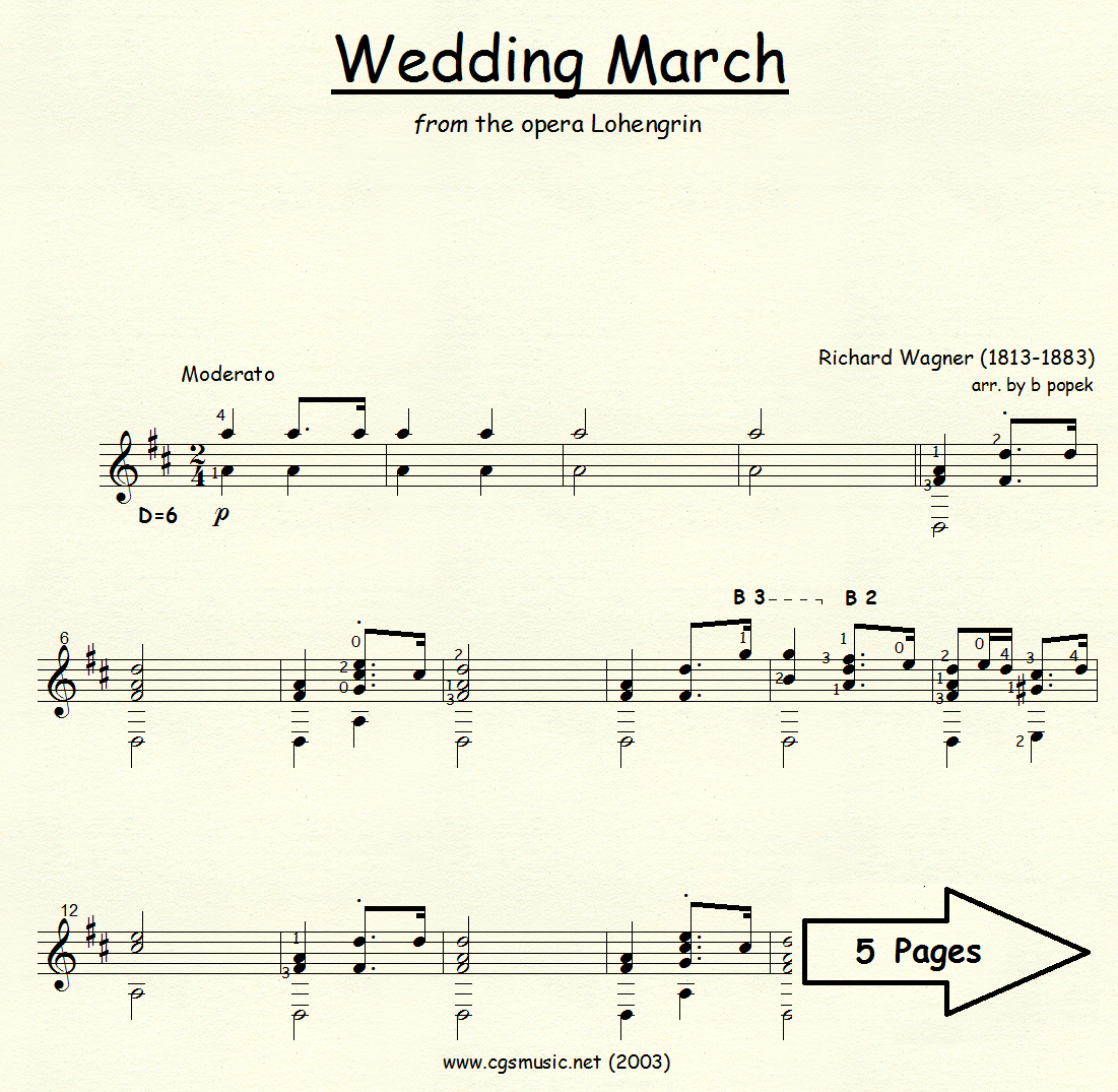 The Wedding March Song: Wedding March